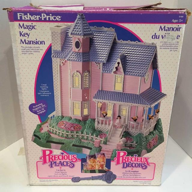 Find More 1988 Fisher Price Precious Places Magic Key Mansion Gazebo And Wedding Chapel For Sale At Up To 90 Off