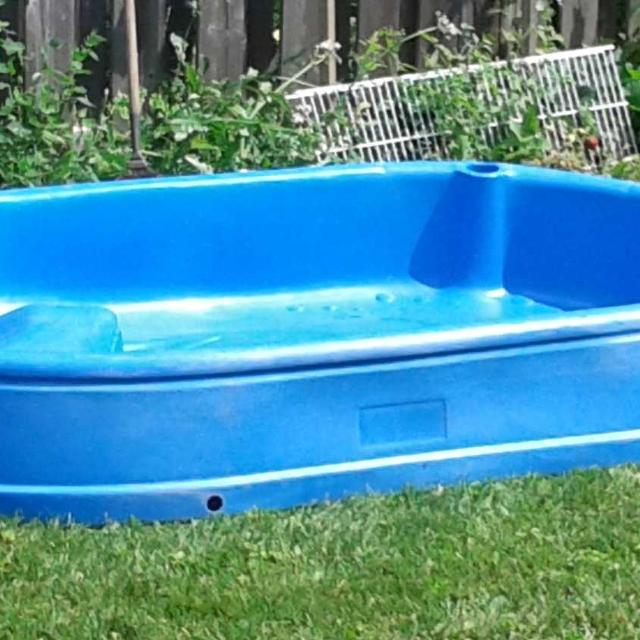 Hard Plastic Baby Pool Large Garden Pools For Dogs Kiddie Large Wading Pool Large Wading Pool