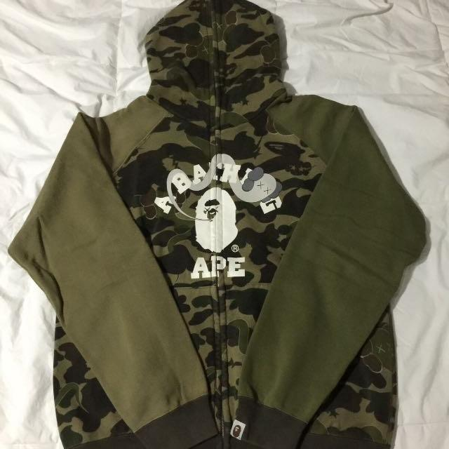 Bape X Kaws >> Best Bape X Kaws Hoodie For Sale In Airdrie Alberta For 2019