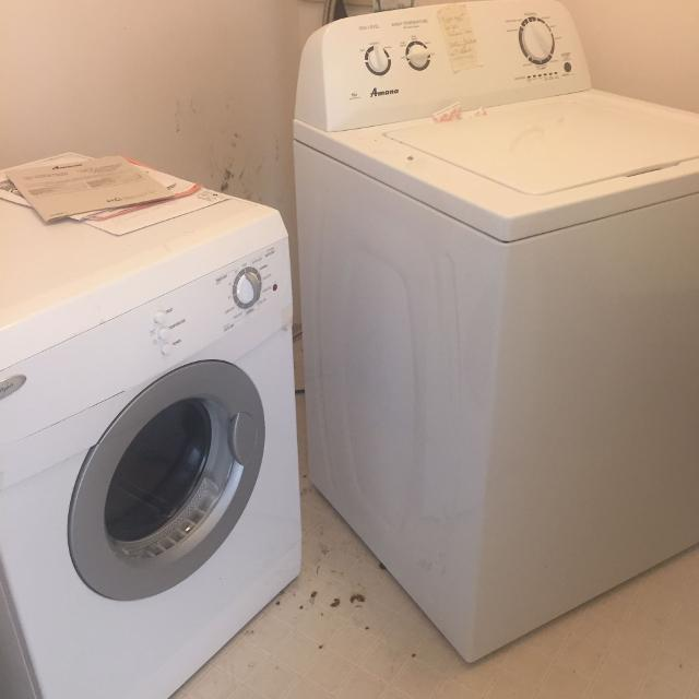 Last price drop - Amana top load washer (dryer sold)