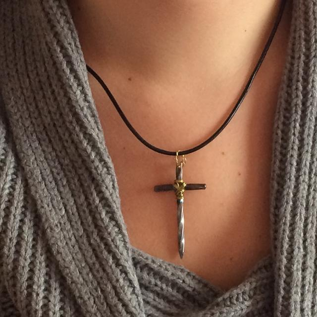 Best crown of thorns and nail cross necklace for sale in calgary crown of thorns and nail cross necklace aloadofball Choice Image