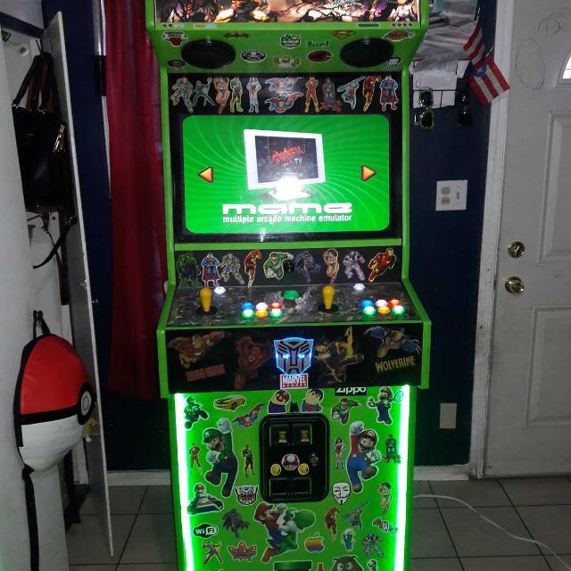 Arcade 6000 games