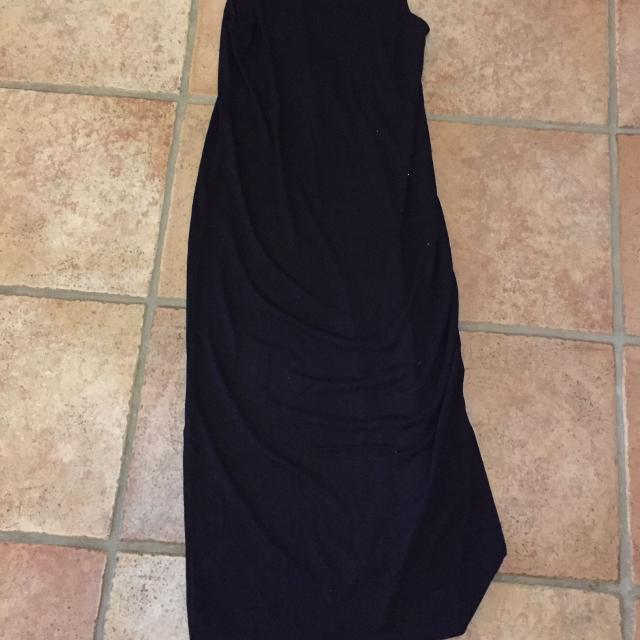 Find More Bnwt Black Midi Dress With Slits On Side From H M Size 6