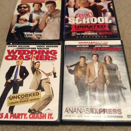 4 for $2 DVD adult humor pack for sale  Canada