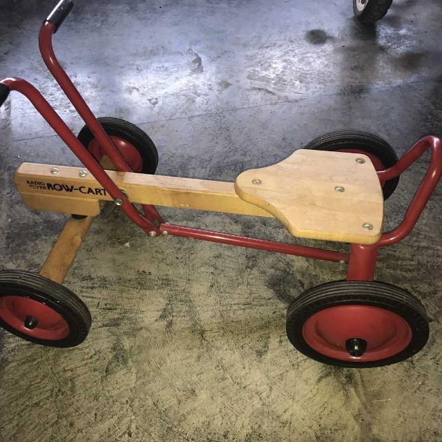 Find More Vintage 1980s Row Cart Radio Flyer Euc For Sale At Up To