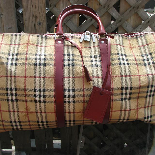 0e25695444e8 Best Burberry Haymarket Duffle Bag for sale in The Beaches