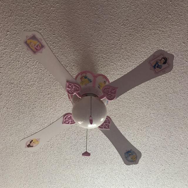 Gorgeous Disney Princess Ceiling Fan