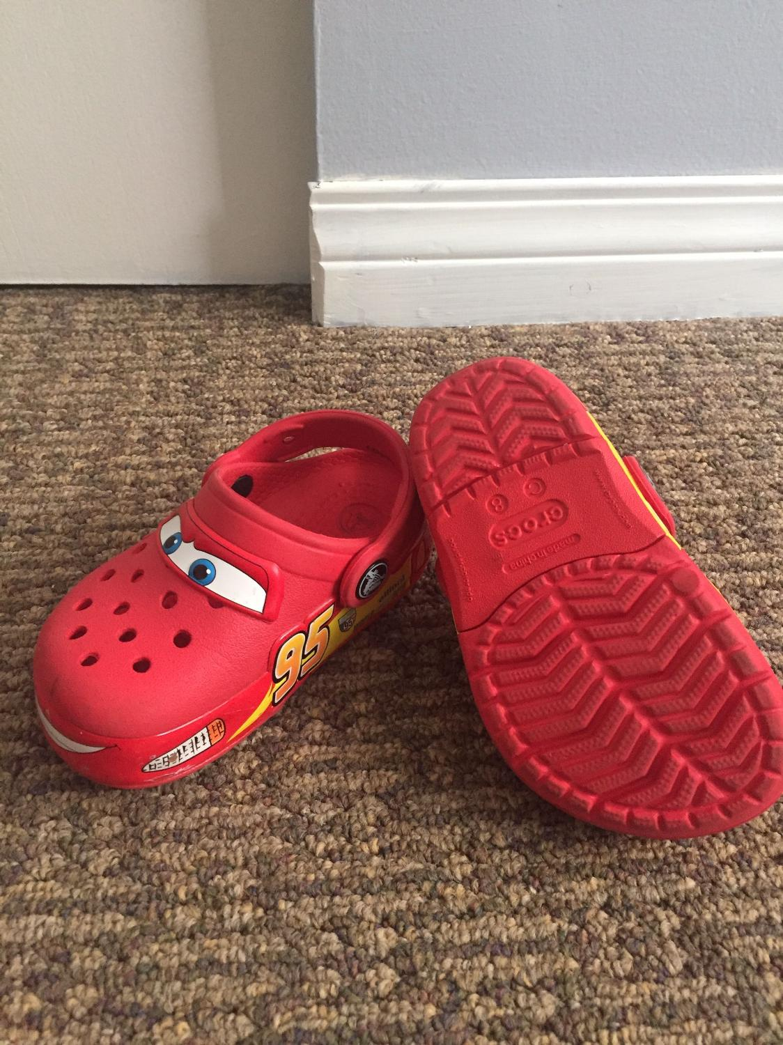 1e4e26cb8 Find more Light Up Crocs Lightning Mcqueen (cars) for sale at up to ...