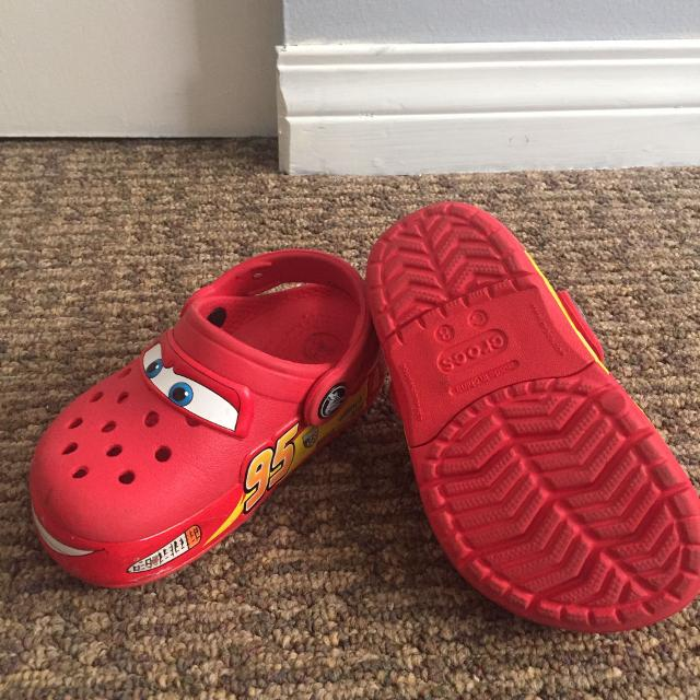 dbaad945c9f Find more Light Up Crocs Lightning Mcqueen (cars) for sale at up to ...