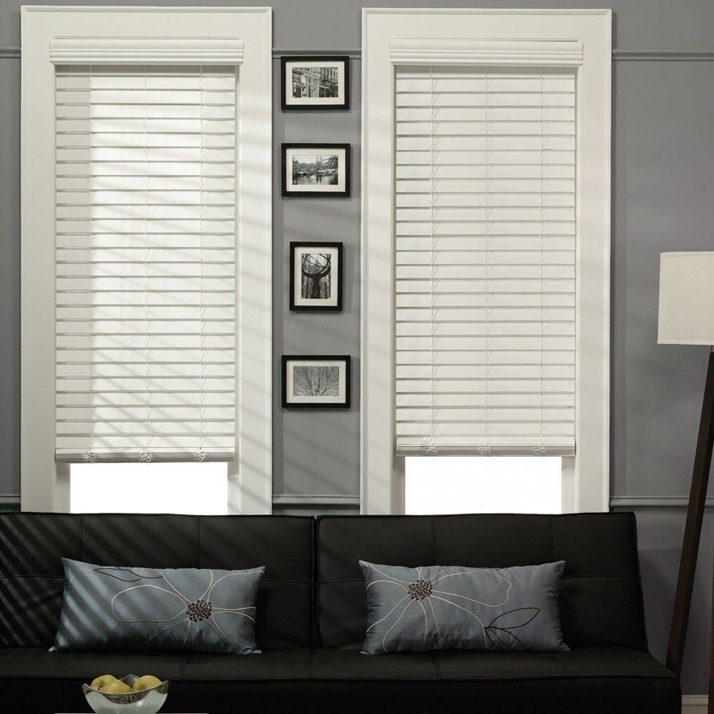 Best 2 Quot White Faux Wood Blinds For Sale In Victoria
