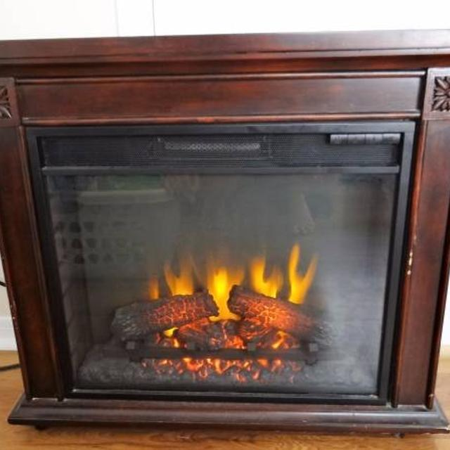Find More Twin Star Electric Fireplace With Timer And Heat Controls