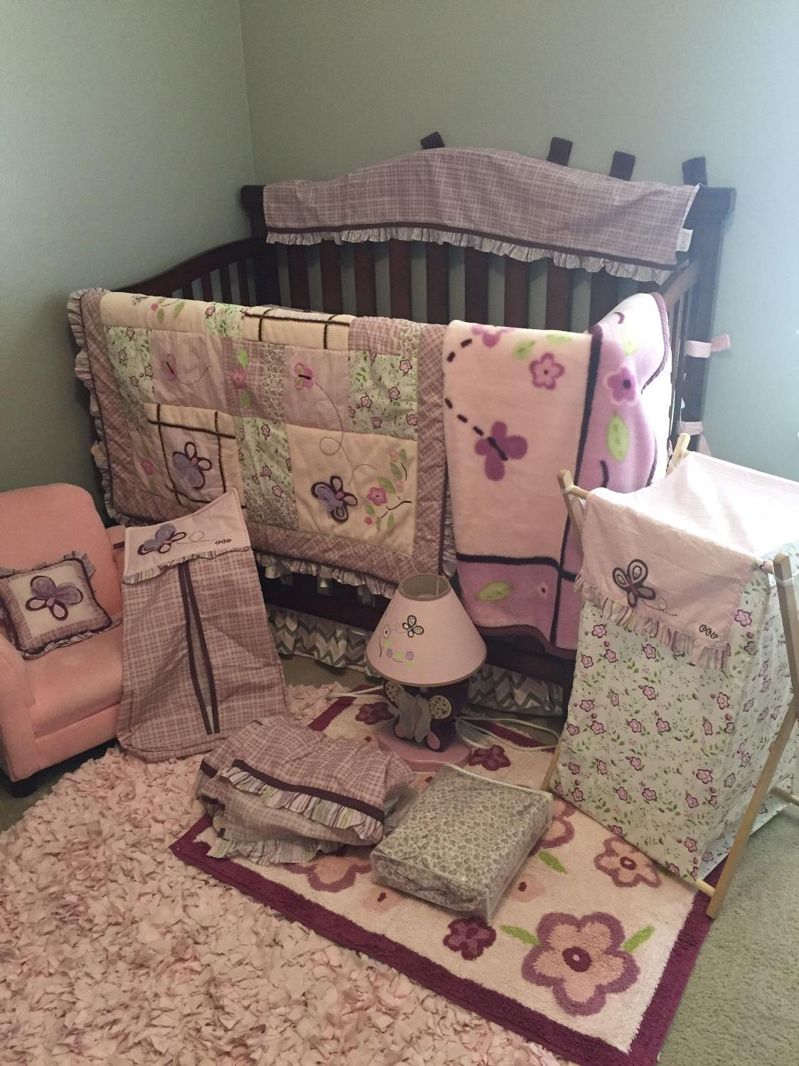 Find More Cocalo Sugar Plum Baby Bedding Set With Extra Accessories
