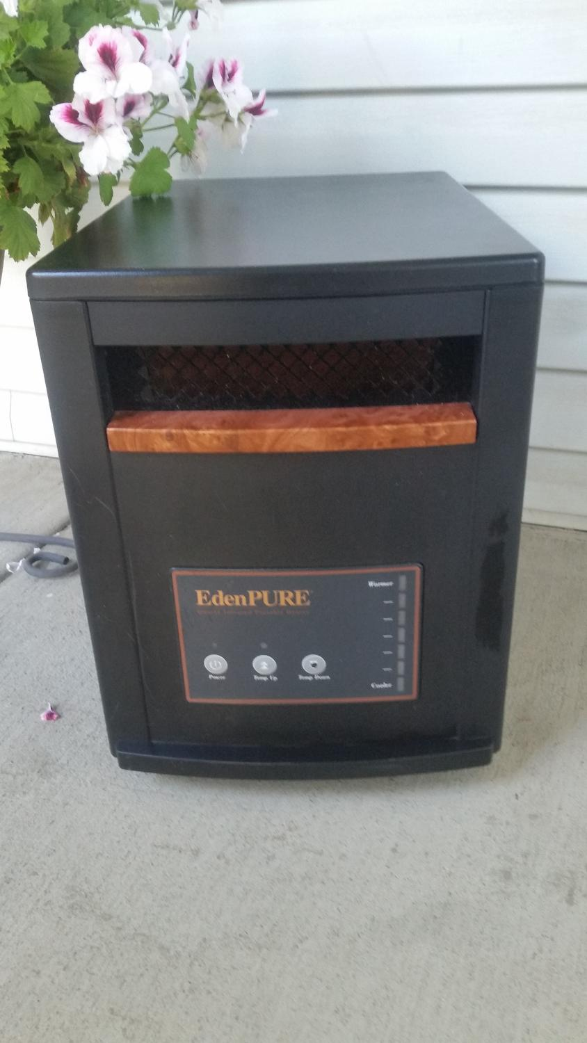 Find more Edenpure Quartz Infrared Portable Heater for sale at up to ...