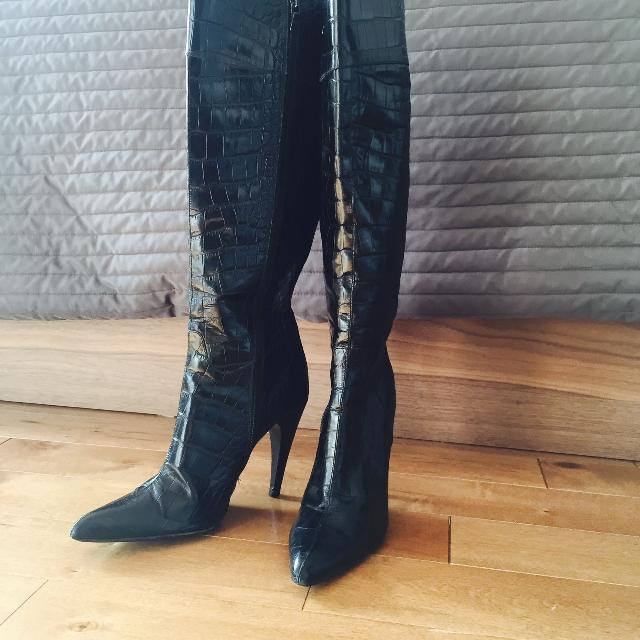 Best Women s Alligator Authentic Prada Boots for sale in Ottawa ... f1dca3791