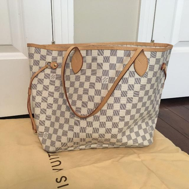 Authentic Louis Vuitton Neverfull With Receipt