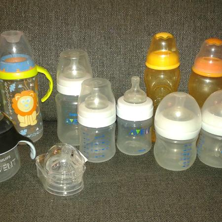 Lot of baby bottles for sale  Canada