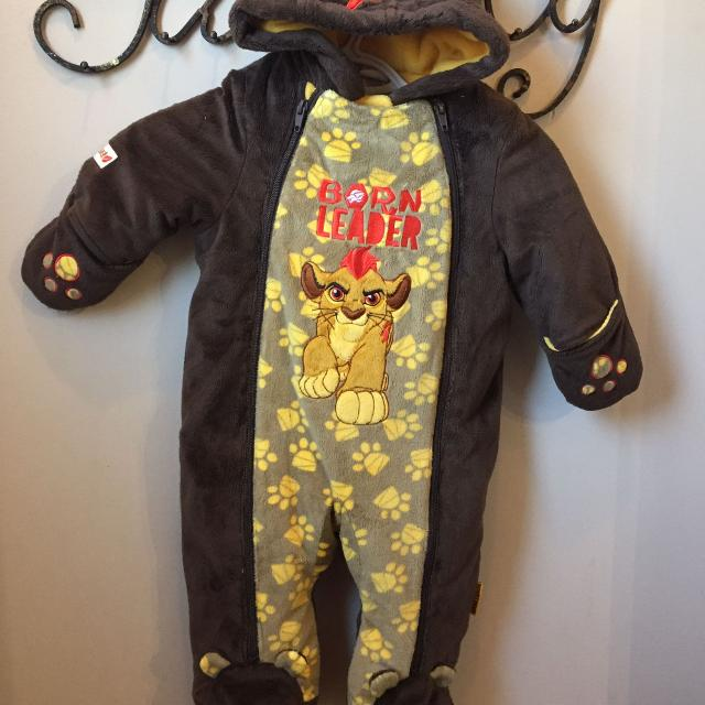 d36e7c3de Best Lion King One Piece Snowsuit Size 6-12 Months for sale in Uxbridge,  Ontario for 2019