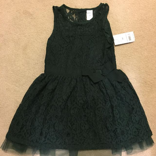 4a2add9e5b36 Best Carter's Dark Green Toddler Dress - 3t for sale in Brampton, Ontario  for 2019