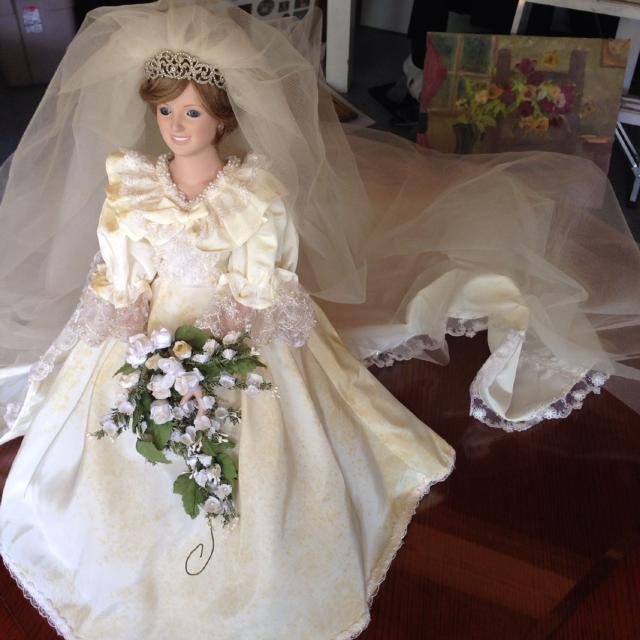 Best Princess Diana Wedding Doll for sale in Hendersonville ...
