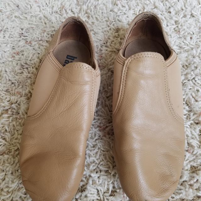 68842dd959be Best Balera Brand Tan Jazz Shoes. Size 5.5 But Sizing Is Three Sizes ...
