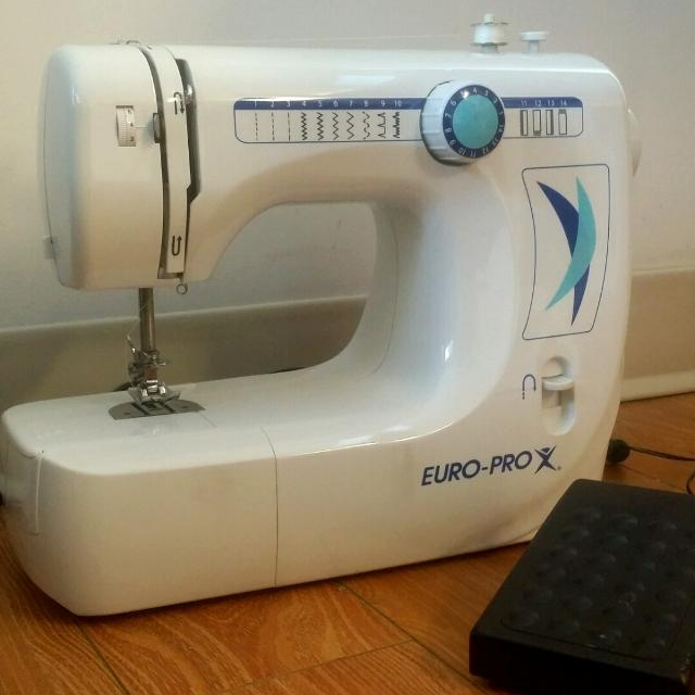 Find More Europro 40 Xc Sewing Machine For Sale At Up To 40% Off Best How To Thread Euro Pro Sewing Machine