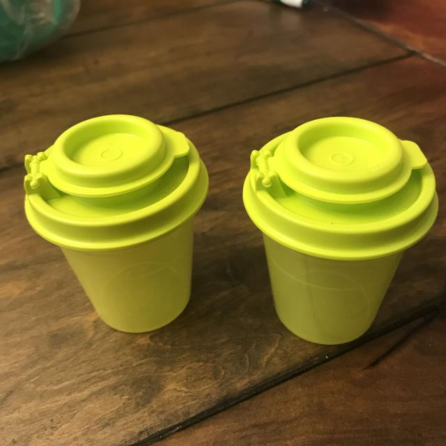 Find More Genuine Tupperware Mini Salt And Pepper Shakers New For