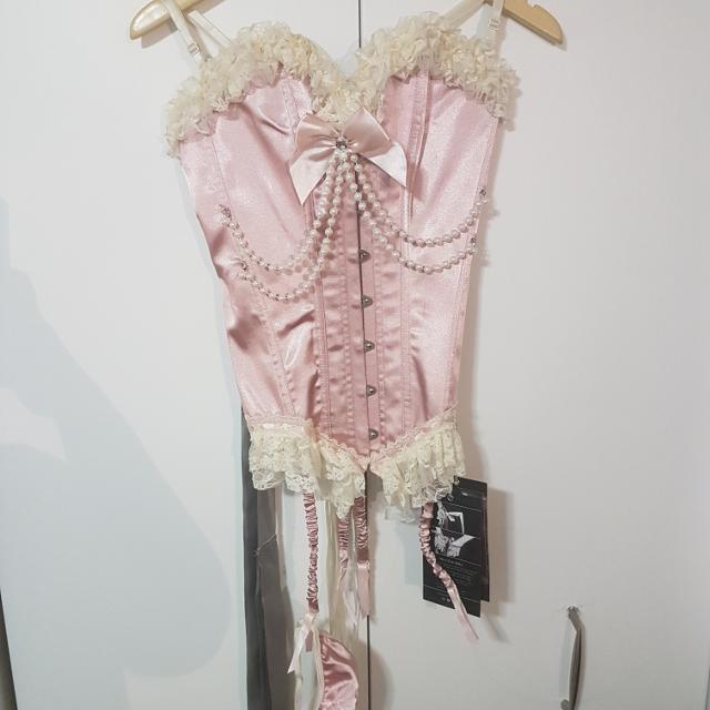 6b838d5a3d5 Best Pink Satin Corset for sale in Yorkville