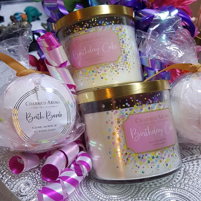 Best Charmed Aroma Birthday Cake Candles For Sale In Oshawa