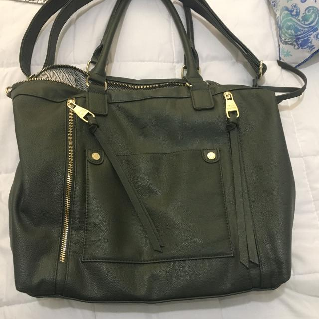 de82e0f1ae2 Find more Steve Madden Purse Olive Green Colour for sale at up to 90 ...