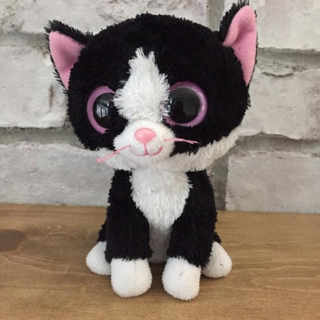98b57c10f87 Find more Euc Ty Beanie Boo Pepper The Cat for sale at up to 90% off