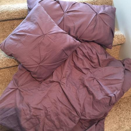Baby Girl Pintuck Crib Bedding, used for sale  Canada