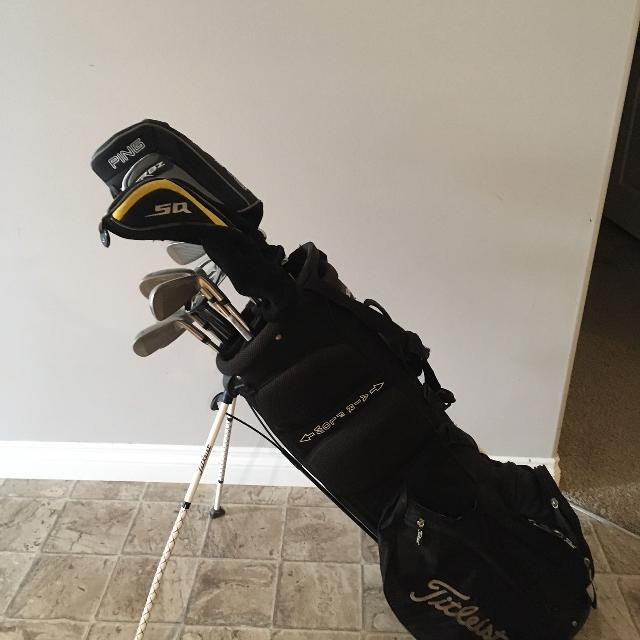 99f2df474b15 Find more Full Set Of Men s Lh Clubs And Bag for sale at up to 90% off
