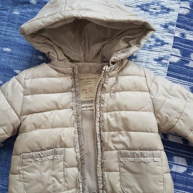c3edf114 Find more Zara Baby Girl Jacket 6/9 Months for sale at up to 90% off