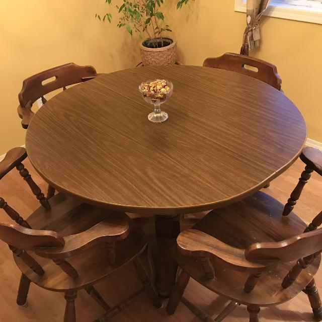 dining table mahogany with captains chairs dining table