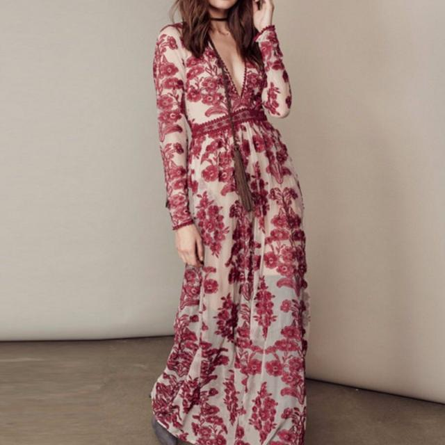 7e25f321138 Find more For Love And Lemons - Raspberry Temecula Maxi Dress for ...