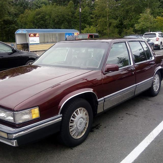 Best 1991 Cadillac Sedan Deville $3,000 For Sale In
