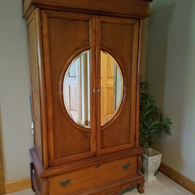 Lexington Victorian Sampler Armoire