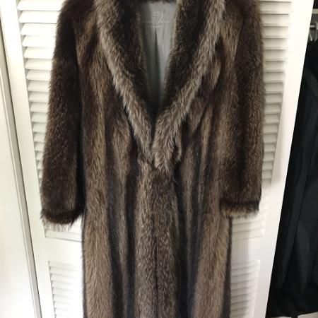 Vintage Raccoon Fur Coat, used for sale  Canada