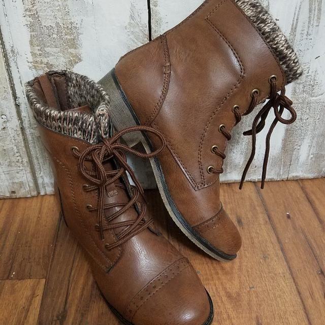 Find More Mudd Knit Top Ankle Boots Nwot Size 7 For Sale At Up To 90
