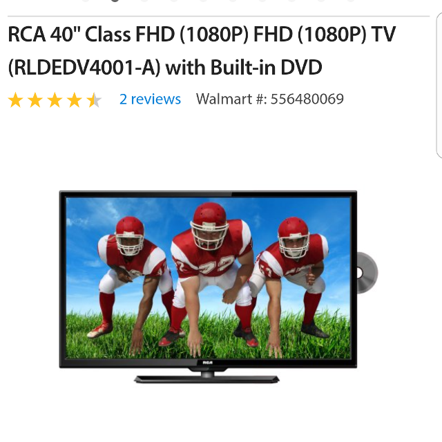 Find More 40 Inch Rca Tv With Built In Dvd Player For Sale At Up To