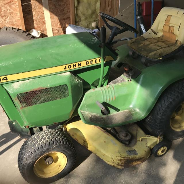 John Deere 214 >> Best John Deere 214 Ride On Mower For Sale In Calgary Alberta For 2019