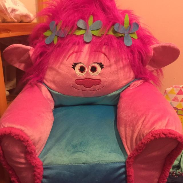 Trolls Poppy Bean Bag Chair