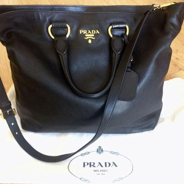 Best Authentic Vintage Prada Vitello Daino Leather Tote Bag for sale in  Yorkville, Ontario for 2019 d58d4a63c3