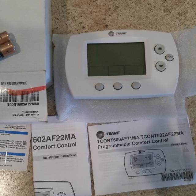Find more new never used trane electronic home thermostat for new never used trane electronic home thermostat sciox Choice Image