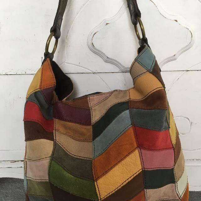 Find more Lucky Brand Patchwork Boho Bag Reduced for sale at up to ... f8b862ec4b549
