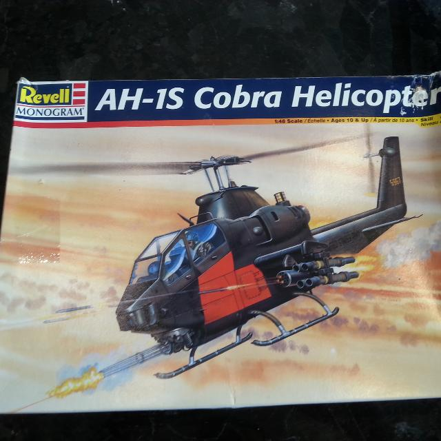 AH-1S COBRA ATTACK HELICOPTER MODEL KIT
