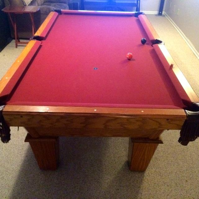 Best Amf Playmaster Pool Table For Sale In Overland Park Kansas For - Amf playmaster pool table