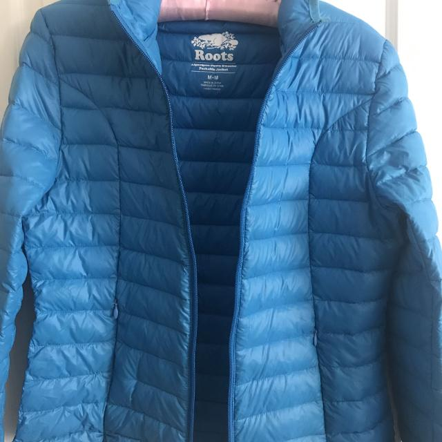 7d8c9522a0 Find more Roots Packable Down Jacket Size M for sale at up to 90% off