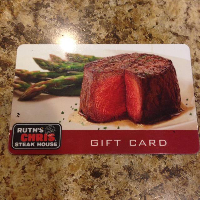 Best Ruth\'s Chris Steak House Gift Card for sale in Brockton Village ...