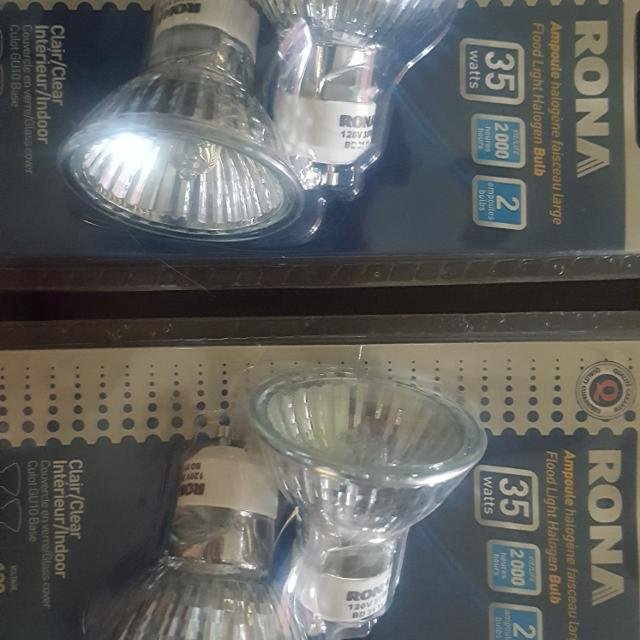Rona 35w 120v Flood Light Halogen Bulb
